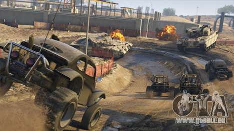 GTA Online Astuces Utiles: Rhino Chasse