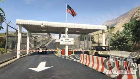 Fort Zancudo dans GTA 5