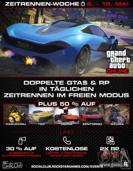 Neue Veranstaltung der Woche in GTA Online