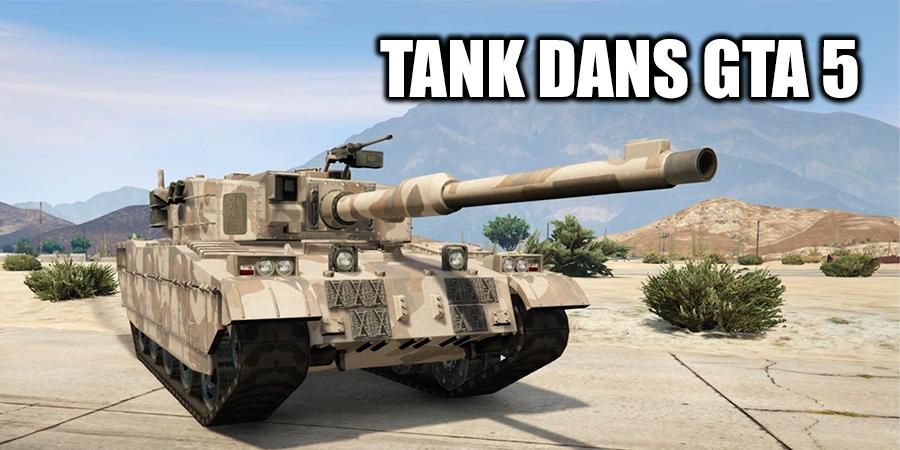 Tank dans GTA 5