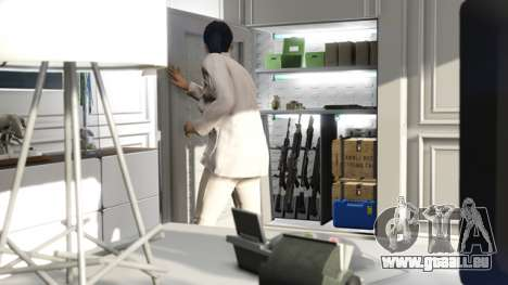 Gun Locker in GTA Online