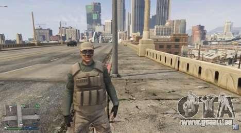 Bodyguard costume pour le GTA Online