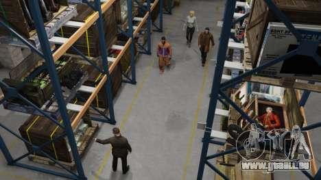 Organisation de l'Entrepot dans GTA Online