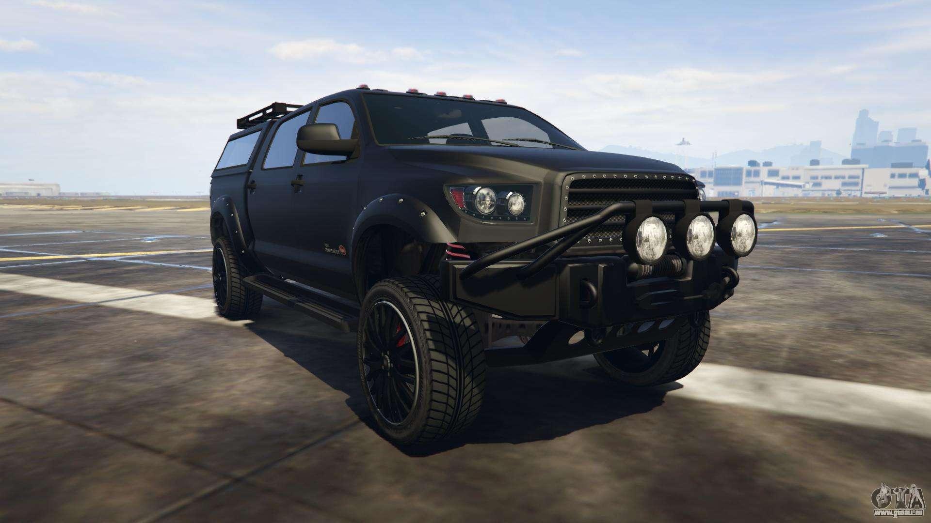 Vapid Contender aus GTA online - Vorder-Ansicht