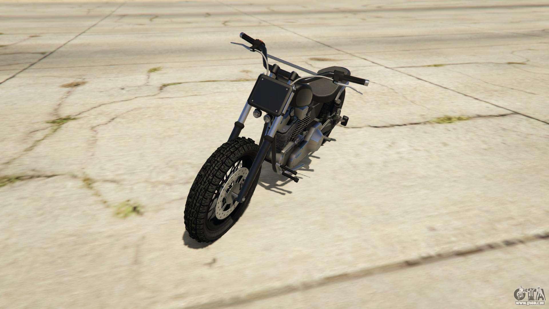 Western Motorcycle Company Cliffhanger aus GTA Online - Vorder-Ansicht