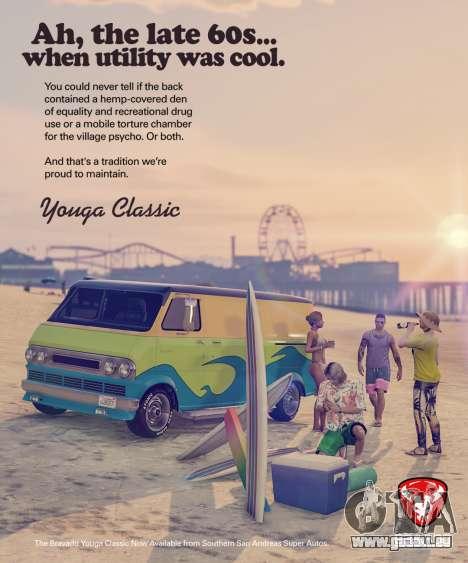 Nouveau véhicule Bravado Youga Classique pour GTA Online