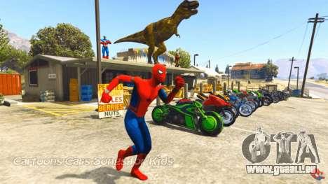 De Spider-man dans GTA 5