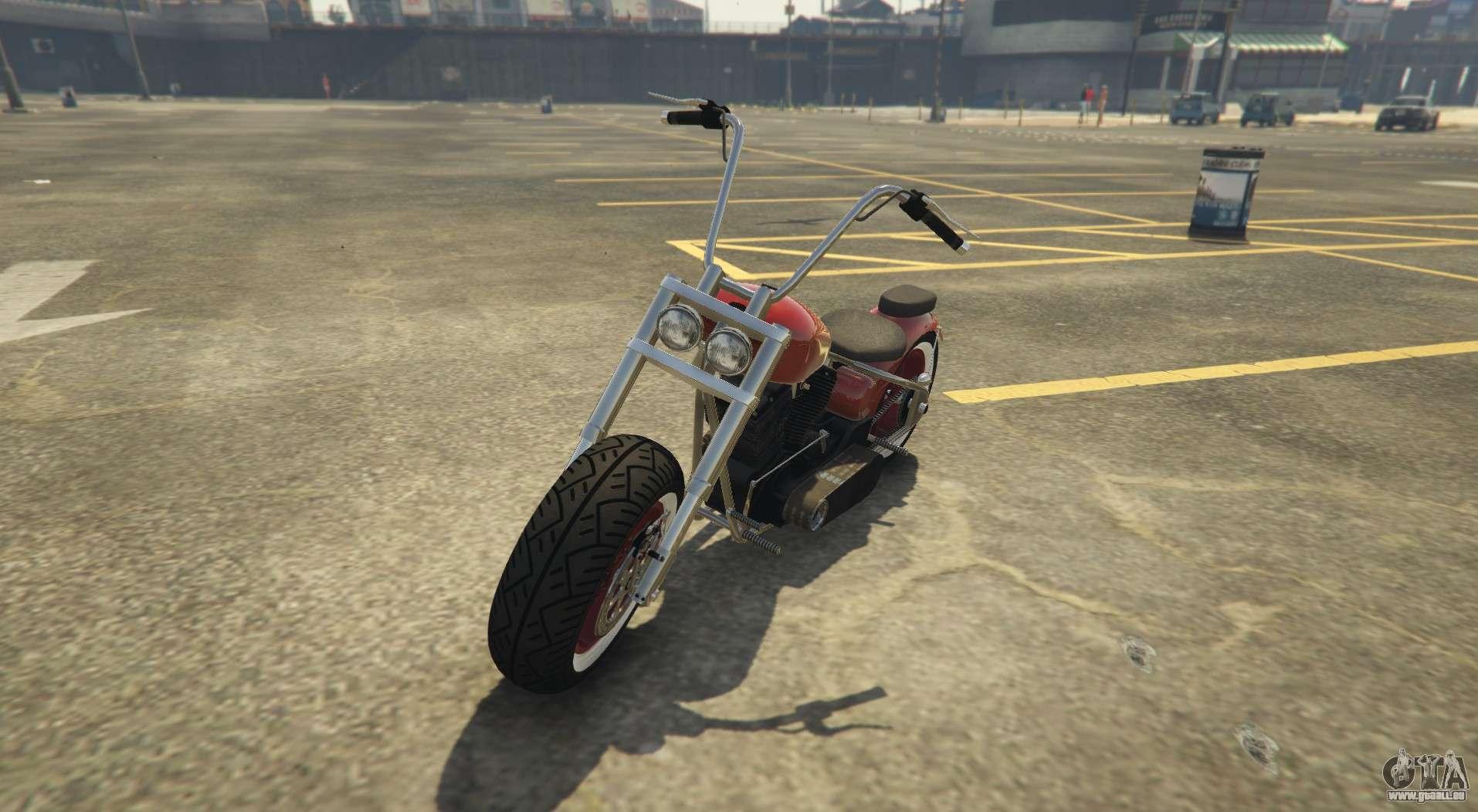 Nouveau chopper dans GTA Online Western Motorcycle Company Zombie Chopper