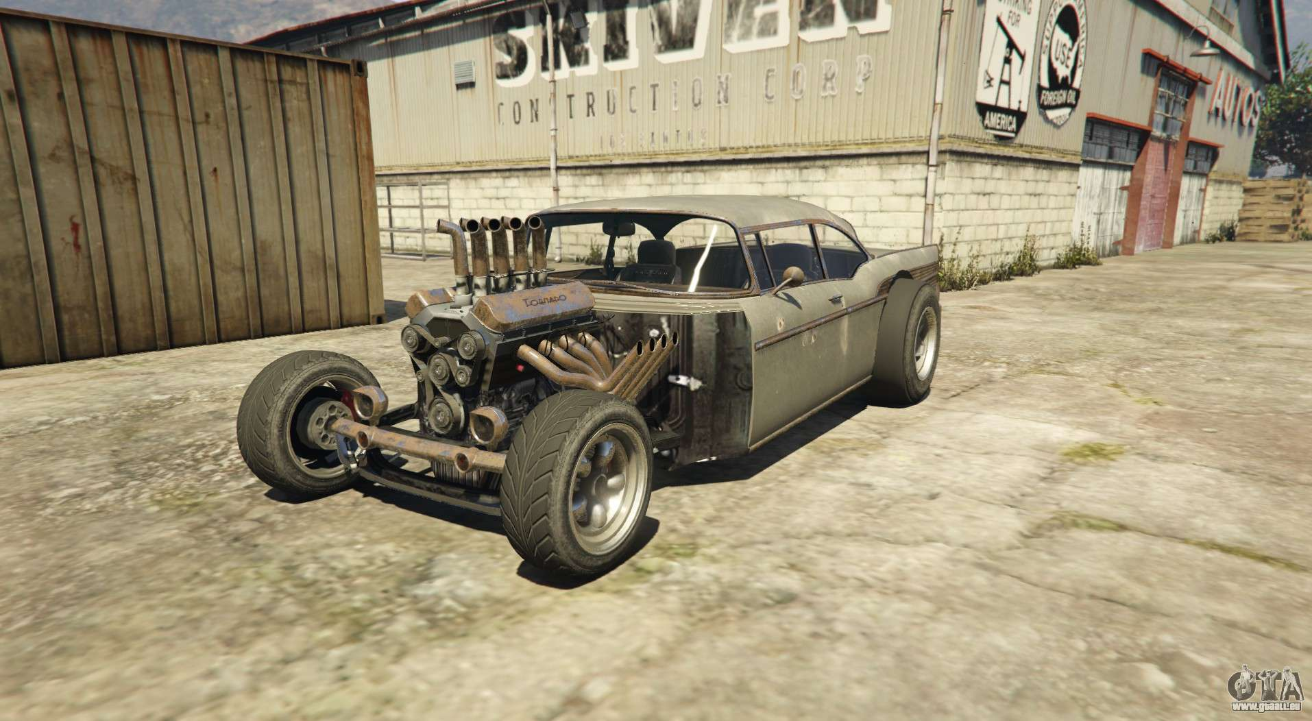 Tornado Rat Rod - Rostig version von Declasse Tornado