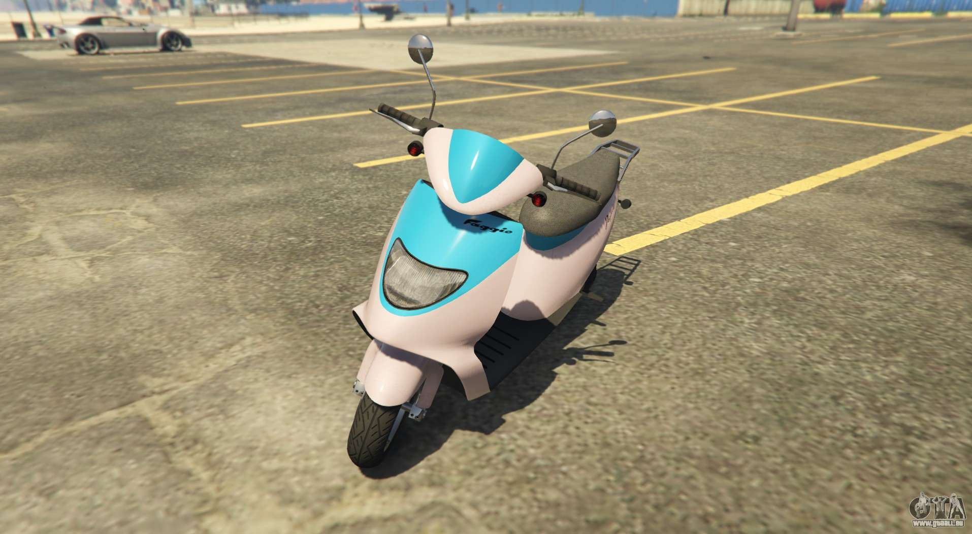 Sports scooter Pegassi Faggio Sport