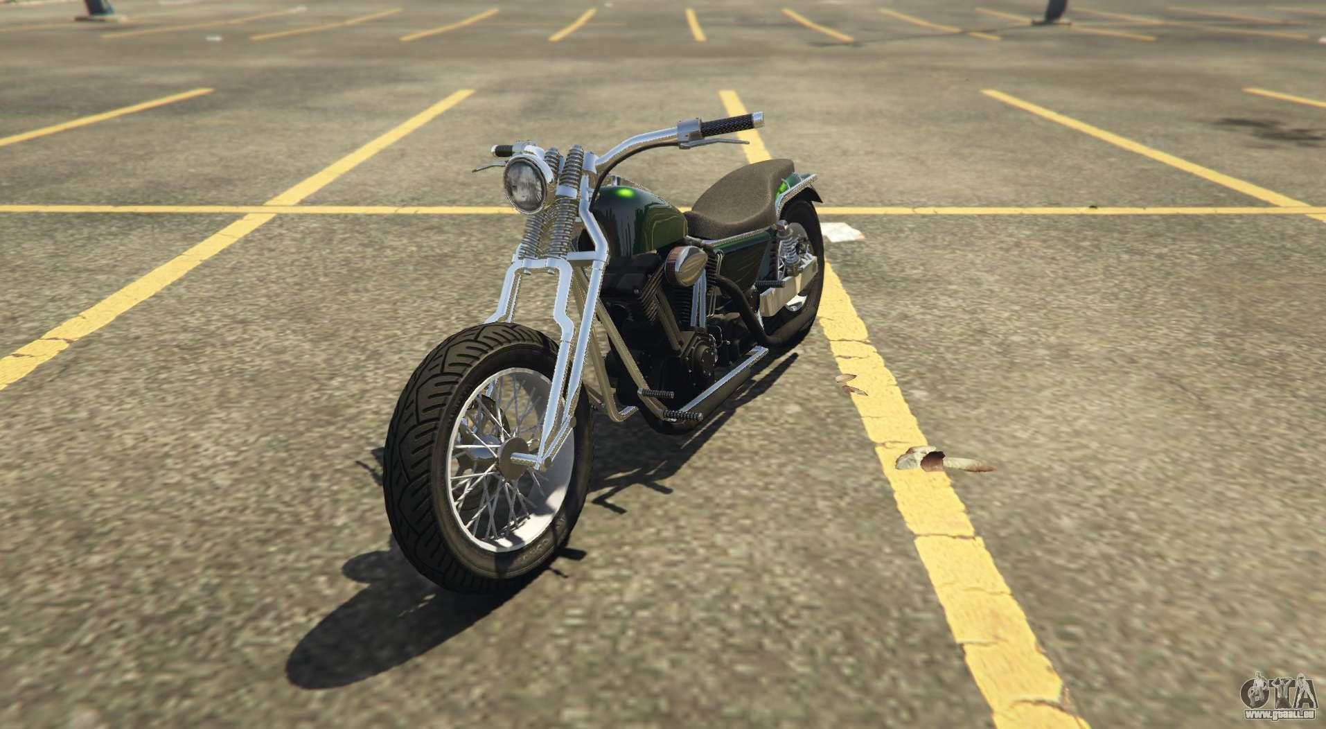 Un autre classique de chopper Western Wolfsbane dans GTA Online