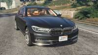 BMW 750 LI 2016 pour GTA 5