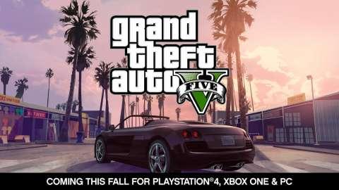 Die Ankündigung von GTA V auf dem PC, die PS4 und XboxOne