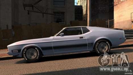 Ford Mustang Mach 1 1973 v2 für GTA 4 linke Ansicht