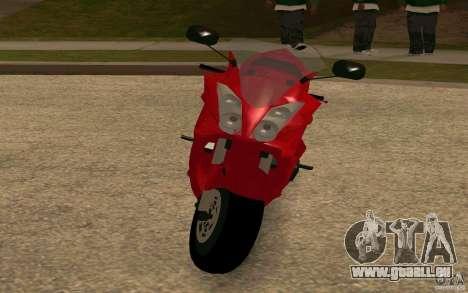 Honda VTR 2003 pour GTA San Andreas laissé vue