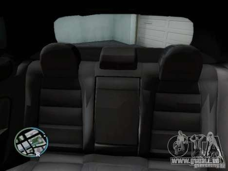 Volkswagen Golf V R32 Black edition für GTA San Andreas obere Ansicht