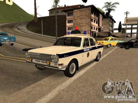 GAZ 24 milice pour GTA San Andreas