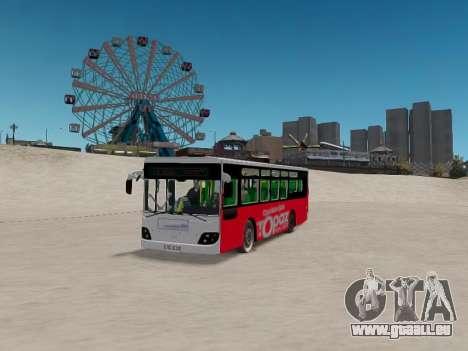 Daewoo BC211MA Baku für GTA 4 Rückansicht