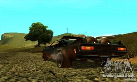 Ford Falcon 351 GT (XB) pour GTA San Andreas sur la vue arrière gauche