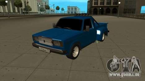VAZ 2107 Ford pour GTA San Andreas laissé vue