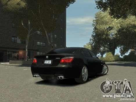 BMW M5 E60 für GTA 4 Rückansicht