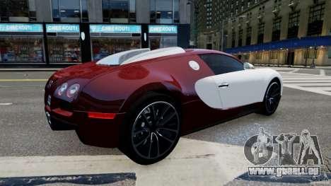 Bugatti Veyron 16.4 v1.0 wheel 1 pour GTA 4 est une gauche