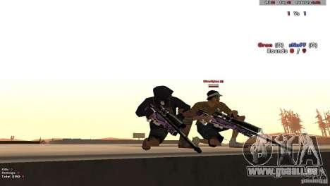 New Chrome Guns v1.0 pour GTA San Andreas cinquième écran