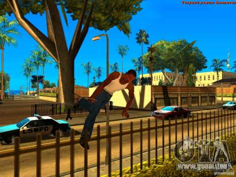 New Animations V1.0 für GTA San Andreas fünften Screenshot