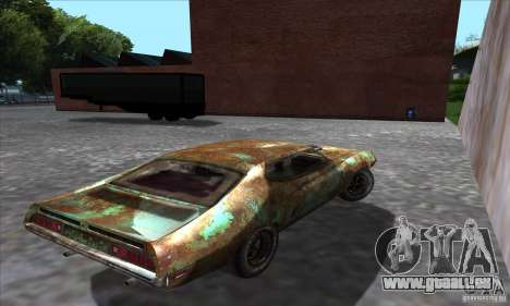 Ford Torino Cobra 429 SCJ pour GTA San Andreas laissé vue
