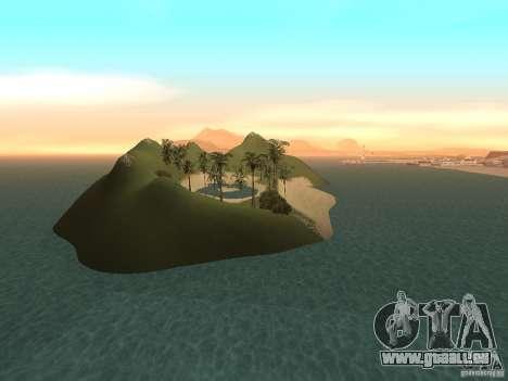 Volcano pour GTA San Andreas cinquième écran