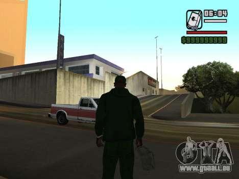 format 12/24 heures pour GTA San Andreas cinquième écran