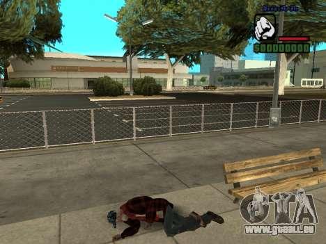 Haut die Bum Jacke für GTA San Andreas fünften Screenshot