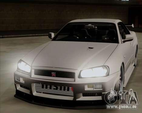 Nissan Skyline GTR R34 für GTA San Andreas