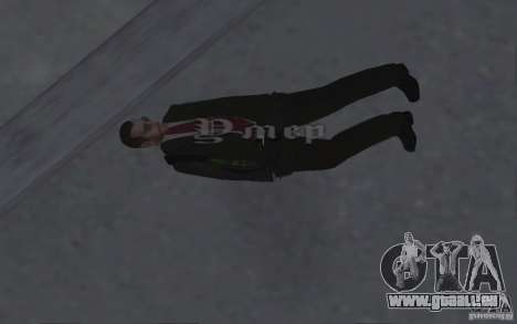 Animer le corps de GTA IV pour GTA San Andreas