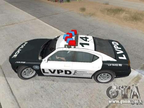 GTA 4 TBoGT chez Buffalo pour GTA San Andreas sur la vue arrière gauche