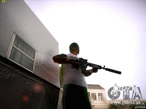 M4 Close Quarters Combat pour GTA San Andreas
