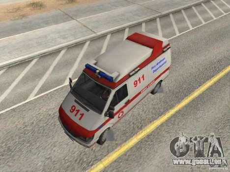 Ford Transit Ambulance pour GTA San Andreas vue de droite