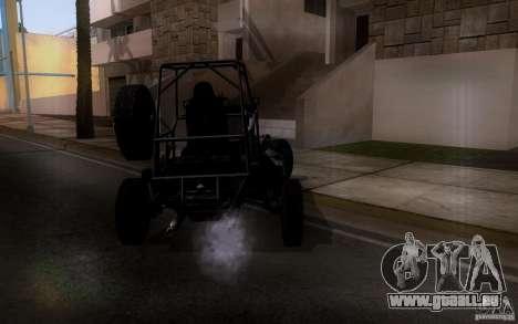 Desert Patrol Vehicle pour GTA San Andreas vue de droite