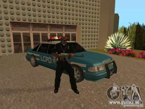 HD Police from GTA 3 pour GTA San Andreas vue de dessous