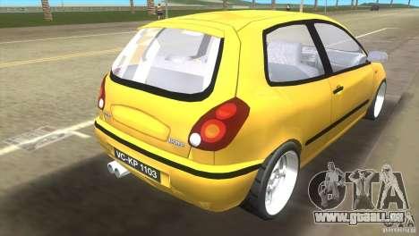 Fiat Bravo pour une vue GTA Vice City de la gauche