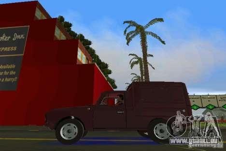 IZH 2715 pour une vue GTA Vice City de la droite