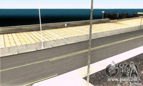 Real HQ Roads pour GTA San Andreas cinquième écran