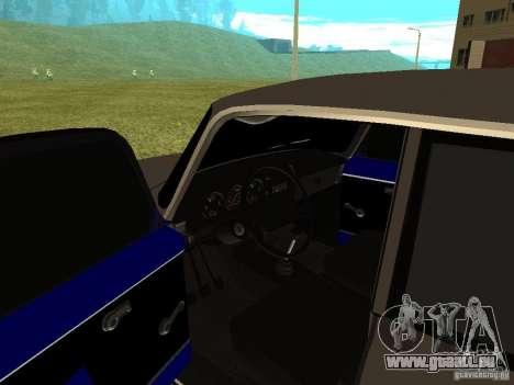 Moskvich 2140 pour GTA San Andreas vue arrière