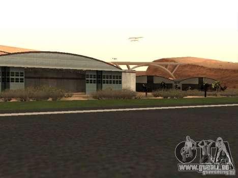 Le nouvel aéroport pour GTA San Andreas quatrième écran