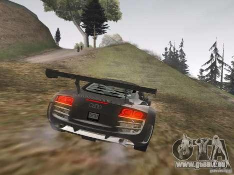 Audi R8 LMS v3.0 für GTA San Andreas rechten Ansicht