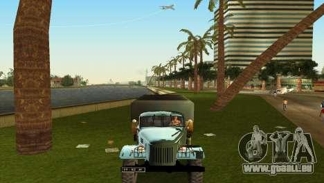 ZIL-157 pour une vue GTA Vice City de l'intérieur