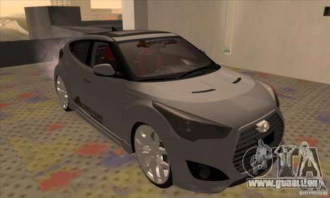 Hyundai Veloster Castor für GTA San Andreas linke Ansicht