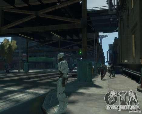 Haut-Robokopa für GTA 4 weiter Screenshot