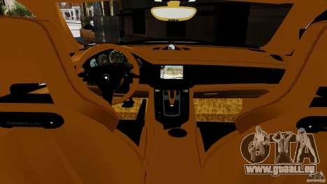 Porsche Panamera Gemballa Mistrale 2010 pour GTA 4 est une gauche