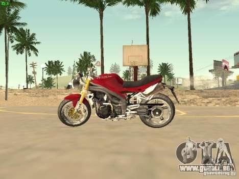 Bike Triumph für GTA San Andreas rechten Ansicht